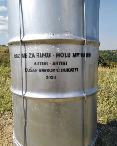 DRŽI ME ZA RUKU, metal, 5m., Lokacija : Bike park Bukovac, 2020