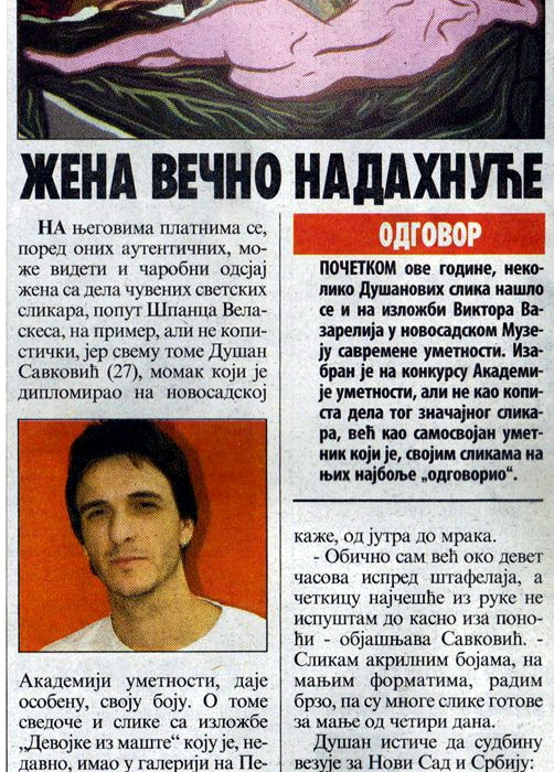 Večernje Novosti 2011 god.